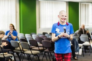 Sue Hampton ambassador of Alopecia UK