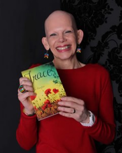 Sue Hampton and her book Traces