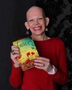 Sue Hampton and her book Traces