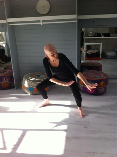 My kind of improvised expressive dancing - to raise money for Alopecia UK over four hours non-stop.