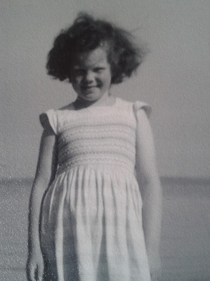 little Sue on beach