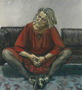 by Paula Rego, pastel on paper laid on aluminium, 1995